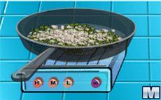 Aprendiendo en la cocina - Noddles sopa con pollo