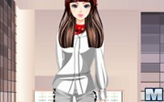 Juego de vestir a la moda - Tienda de modelo