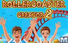 Juego creador de parques de atracciones - Roller Coaster Creator 2
