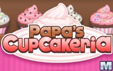 Papa's Cupcakeria - Cocina cupcakes para vender