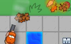 Leaf Blower Madness