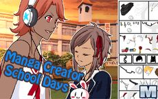Podrás vestir estilo colegiala - Manga Creator School Days
