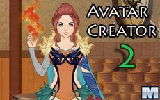 El juego de vestir de Avatar Creator 2