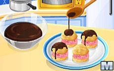 Cocina con Sara: Profiteroles con Helado