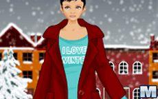 Mega Winter Fashion Dress Up Game