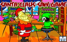 Santa Claus Saw Game