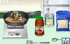 Cocina con Sara: Hamburguesa de Pizza