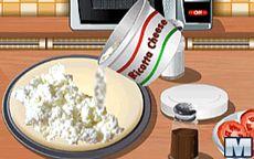 Cocina con Sara Pizza Tricolore