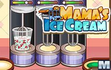 Mama's Ice Cream - ¡Ayúdala a cocinar helado!