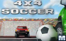 Juega partidos de fútbol con coches - 4x4 Soccer