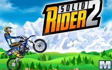 Juego de acrobacias en moto - Solid Rider 2