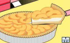 Juego Mia Cooking Peach Flan - Hacer tortas facil
