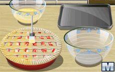 Cocina con Sara: Rhubarb Pie
