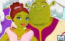 Fiona and Shrek Wedding Prep