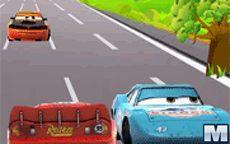 Lightning McQueen On Road