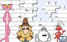 Puzzle Pantera Rosa