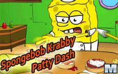 Juego de Bob esponja de cocinar y preparar hamburguesas