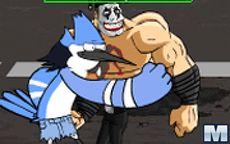 Regular Show Street Fighter
