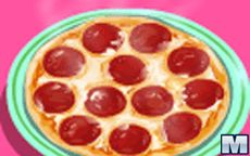Cocina tu pepperoni pizza en este juego simulador