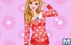 Juego de Barbie de vestir para San Valentin