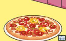 Mia Cooking Pizza