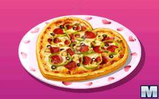 Cocina con Sara: Pizza de San Valentin
