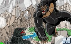 Sort my Tiles King Kong Vs Godzilla
