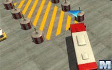 Park it 3D:Airport Bus