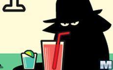 Secret Agent Drinking