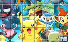 Pokemon Spin Puzzle