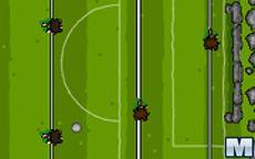 Primitive Table Soccer