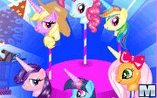 My Little Pony preparando Cake Pops - aprende a cocinarlos