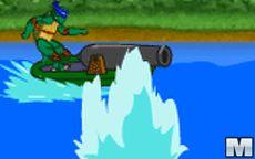 Ninja Turtle River War