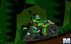 Ninja Turtle Dirt Bike