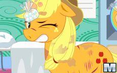 Juego Applejack pony feet doctor - Operar y curar al caballo pony