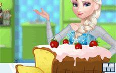 Juego de cocinar con Elsa - Bizcocho delicioso