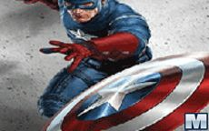 Captain America Jigsaw