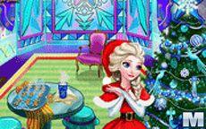 Elsa Christmas Home