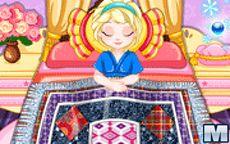 Baby Elsa's Patchwork Blanket