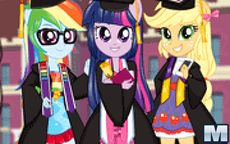Juego de Equestria Girls - Team Graduation - My little pony