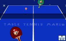 Table Tennis Mario