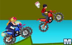 Beyblade vs Yu-Gi-Oh! Motocross