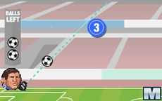 Cabezones del Fútbol: Entreno de tiro