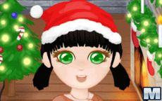 Viste a la chica en Navidad