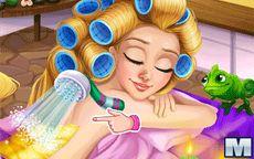 Blonde Princess Spa Day