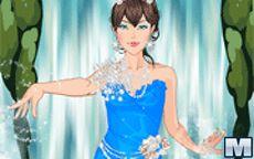 Vestir a la princesa acuática