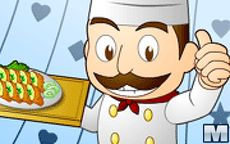 Este cocinero es un gran chef