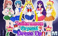 Sailor Moon Cristal Dressup