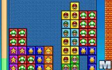 Super Mario Bros Tetris
