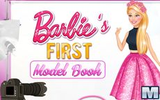 Barbie's First Model Book